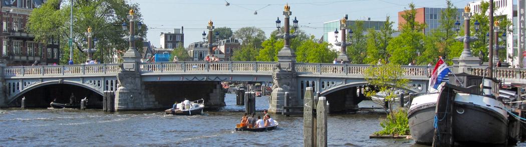 Biking the Amstel River