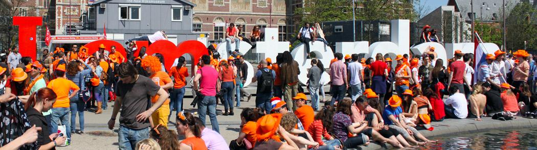 Amsterdam's King's Day Celebration