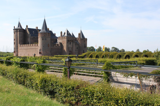 The Muiderslot castle near Amsterdam