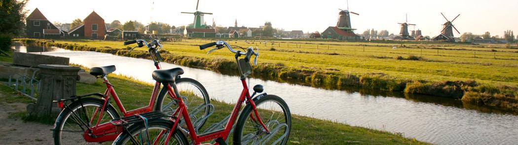 Rented Bikes near Zaanse Schans