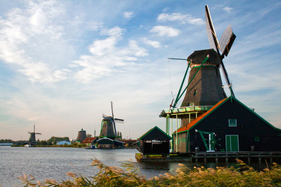 Windmills at Zanse Schans