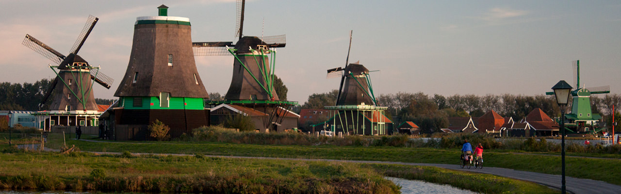 The Zaanse Schans Windmills