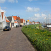 A view of the town of Durgerdam along the coast of the IJsselmeer
