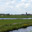The polders, land reclaimed from the sea, near Durgerdam