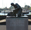The statue in Spaarndam commerating the boy who put his finger in the dike