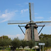 The windmill Molen De Veer near Penningsveer, just east of Haarlem