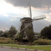 The Riekermolen Windmill, located along the Amstel River